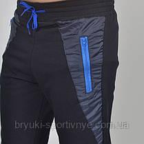 Штаны спортивные Reebok под манжет 46 салатовый шнурок, фото 3