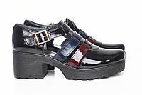 Летние туфли на каблуке