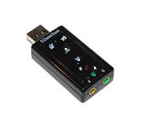 Звуковая карта USB 2.0, 7.1, Dynamode C-Media 108