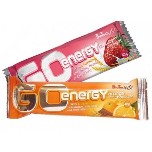 Протеїновий батончик Go Energy Bar BioTech 40 g