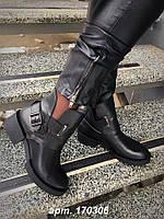 """Ботинки стильные """"Diezеl"""" натуральная кожа  код 1660"""