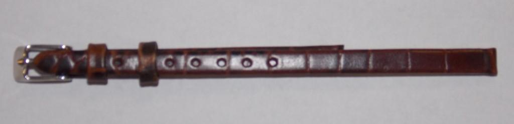 Ремешок кожа AONO (Гонконг) коричн 6 мм