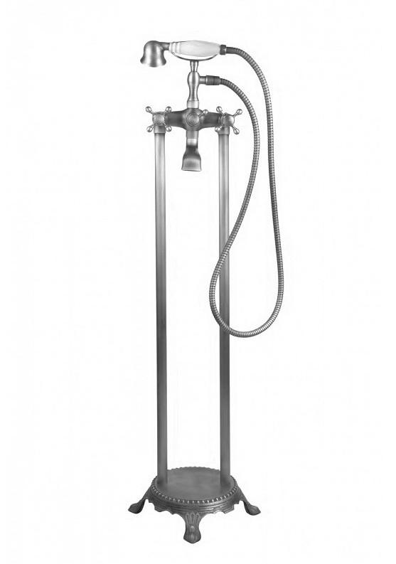 Напольный смеситель для ванны Atlantis 3011 хром