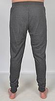 Штаны спортивные мужские под манжет с принтом M черный, фото 2