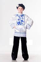 Гжель национальный костюм для мальчика   Размер 110-116  122-128  134 53e1bab2d40fe