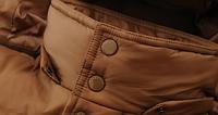 Мужской зимний пуховик с капюшоном. Модель 6107, фото 4