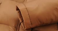Мужской зимний пуховик с капюшоном. Модель 6107, фото 6