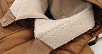 Мужской зимний пуховик с капюшоном. Модель 6107, фото 7