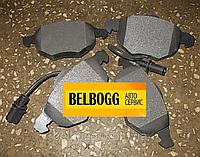Колодки передние AUDI  A4 (8D2, B5),  A4 (8E2, B6),  A4 Avant (8D5, B5),  A4 Avant (8E5, B6),  A6 (4B2, C5),