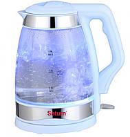 Электрический чайник Saturn ST-EK 8428 Blue