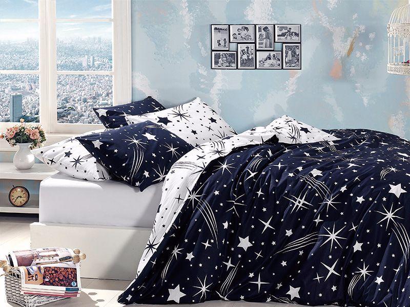 Постельное белье 160x220 First choice ранфорс молодежный Star