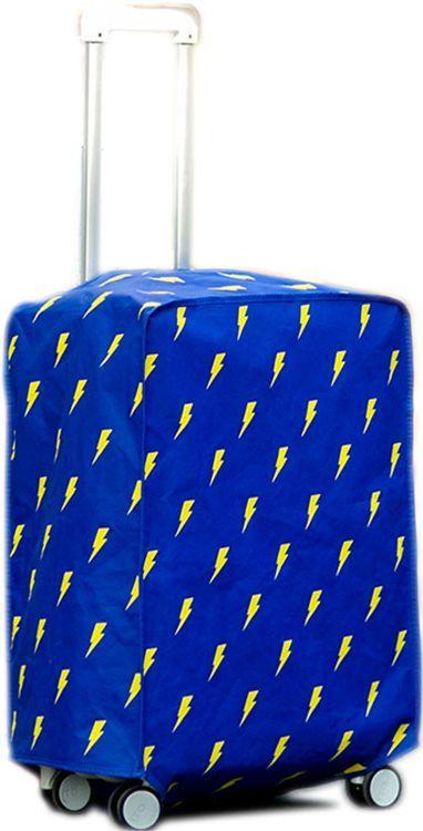 Практичный чехол для малого чемодана Traum 7015-06, синий