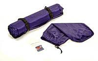 Коврик для кемпинга (матрас) самонадувающийся с подушкой