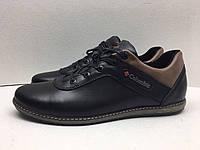 Мужские кроссовки Columbia черно-карамельный