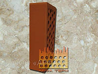 Лицевой керамический кирпич Красный «Евротон»