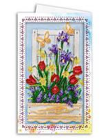 Набор для вышивки бисером «Открытка-конверт» Ранняя весна