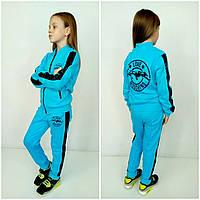 Стильный костюм для девочки  Moschino с пайетками р.122-134см