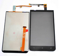 Дисплей (LCD) HTC X720d One XC с сенсором черный