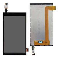 Дисплей (LCD) HTC 620G/  620 Desire Dual sim с сенсором черный