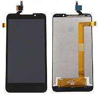 Дисплей (LCD) HTC Desire 516 с сенсором черный