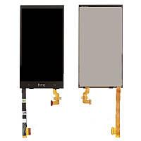 Дисплей (LCD) HTC 601n One mini с сенсором черный