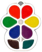 Фарба акварель Луч 8 кольорів Квітка без пензлика 18С1183-08