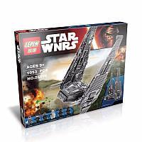Конструктор Lepin 05006 Командный шаттл Кайло Рена - аналог лего 75104 Star Wars, 1053 дет.