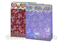 Пакет картонный (27,5х37х10см с фольгой 2 цвета)