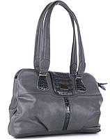 Женская сумка X3005 gray fish skin.Купить сумки оптом и в розницу дёшево в Украине