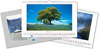 Календарь перекидной, постранично на каждый месяц   1-я степень сложности