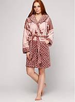 Теплый женский халат,Турция,на зиму