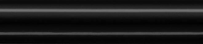 Плинтус керамический Kerama Marazzi 15х3х6,9 Багет Граньяно черный (BLD012), фото 2