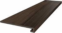 Клинкерная ступень KERAMA MARAZZI 33х119,5х11 Клееная Про Вуд коричневый (DL501700R\GCF)