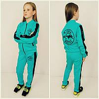 Стильный костюм для девочки  Moschino с пайетками р.122-152см
