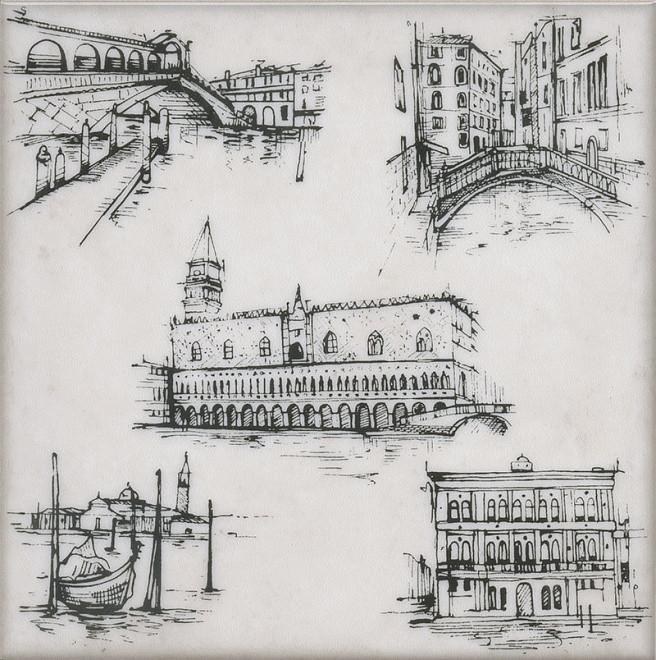 Декор Kerama Marazzi 20Х20Х6,9 Марчиана Venezia (Stg\A594\5261)