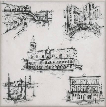Декор Kerama Marazzi 20Х20Х6,9 Марчиана Venezia (Stg\A594\5261), фото 2