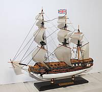 """Сувенирный парусник, корабль """"Royal Caroline"""", 26 х 22 см"""