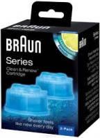 Картридж для очистки бритвы Braun CCR2 Clean & Renew