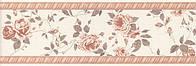Плинтус KERAMA MARAZZI 25х8х9 Дейра Цветы (12068\9)