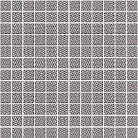 Плитка облицовочная KERAMA MARAZZI  Мозаичная 29,8Х29,8 Кастелло Орнамент Серый (20108)