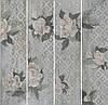Керамогранит Kerama Marazzi 20Х80Х11 Поджио Цветы Серый Светлый Обрезной (Sg704500R)