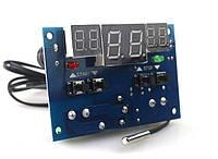 Радиоконструктор Терморегулятор с LED-индикаторами и выносным датчиком XH-W1401