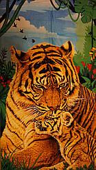 Пляжний рушник Тигри 3