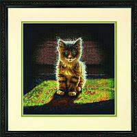 Набор для вышивания Dimensions 70-35286 Warm and Fuzzy Kitten Cross Stitch Kit