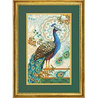 Набор для вышивания Dimensions 70-35339 Royal Peacock Cross Stitch Kit