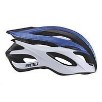 Шлем BBB BHE-03 Fenix road, белый/синий, L