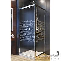 Душевые кабины, двери и шторки для ванн Aquaform Стенка для душевой кабины Aquaform Nigra Aqua 103-40090