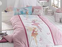 """Подростковое постельное белье """"First choice"""" Butterfly De Luxe ранфорс 160х220"""
