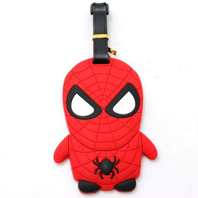 Человек-паук бирка для багажа