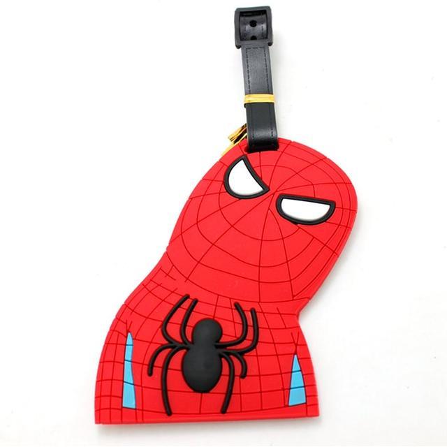 Бирка для багажа Человек-паук висит